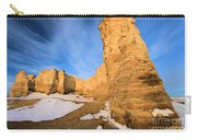 Monument Rocks In Kansas Carry-all Pouch