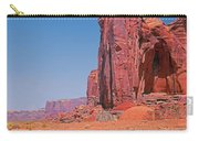 Monument Valley Elrphant Butte And Hogan Carry-all Pouch