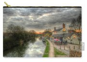 Moody Sunset At The Boat Inn Carry-all Pouch