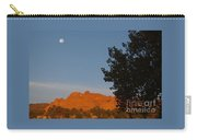 Moon Above Kissing Camels Carry-all Pouch