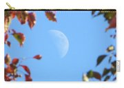 Moon Amidst Red Leaves Carry-all Pouch
