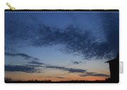 Moon And Clouds At Dusk Carry-all Pouch
