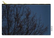 Moon And Trees Carry-all Pouch
