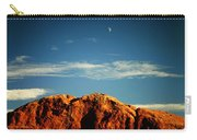 Moon Over Red Rocks Garden Of The Gods Carry-all Pouch