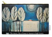 Moon Quote Poster Carry-all Pouch