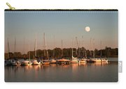 Moon Rises Over The Marina Carry-all Pouch