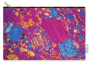 Moon Rock, Transmitted Light Micrograph Carry-all Pouch