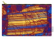 Moon Rock, Transmitted Light Micrograph Carry-all Pouch by Michael W. Davidson