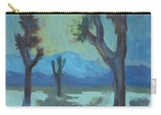 Moon Shadows At Joshua Carry-all Pouch