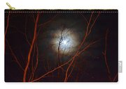 Moonlight By The Camp Fire Carry-all Pouch