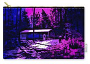 Moonlit Winter Night In The Poconos Carry-all Pouch by George Pedro