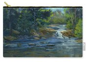 Moonrise On The River Carry-all Pouch
