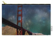 Moonrise Over The Golden Gate Carry-all Pouch