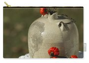 Moonshine Jug And Pumpkin On A Stick Carry-all Pouch