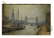 Moored Thames Barges. Carry-all Pouch