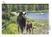 Moose Ends Baxter State Park Maine Carry-all Pouch