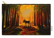 Moose Sunset Carry-all Pouch