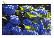 Mophead Hydrangeas Dry Brushed Carry-all Pouch