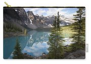 Moraine Lake In The Valley Of The Ten Carry-all Pouch