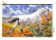 Morisco In Spring Flowers Carry-all Pouch