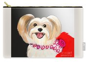 Morkie Valentine  Carry-all Pouch