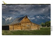 Mormon Barn Under Approaching Storm Carry-all Pouch