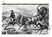 Mormon Family, 1874 Carry-all Pouch