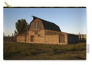 Mormon Row Barn Sunset Carry-all Pouch