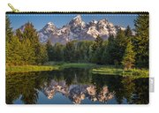 Morning At Schwabacher Landing Carry-all Pouch