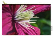Morning Clematis Carry-all Pouch