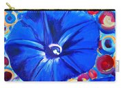 Morning Glory Flower Carry-all Pouch