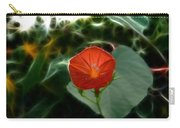 Morning Glory Fractal Carry-all Pouch