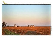 Morning In The Heartland Watercolor Photoart II Carry-all Pouch