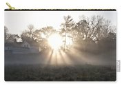Morning Light At Valley Forge Farm Carry-all Pouch