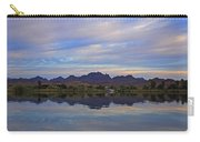 Morning Light On The River Carry-all Pouch