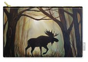 Morning Meandering Moose Carry-all Pouch