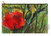 Morning Poppies Carry-all Pouch