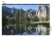 Morning Reflection At Yosemite Carry-all Pouch