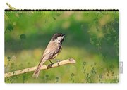 Morning Song Chickadee Carry-all Pouch
