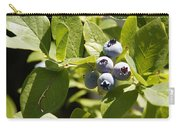Morning Sun On Blueberries Carry-all Pouch