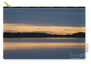 Morning Sun Rising At Arctic Sea Carry-all Pouch by Heiko Koehrer-Wagner
