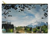 Morning View Of Salzburg From Kapuzinerberg Carry-all Pouch