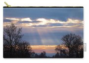 Mornings Heavenly Light Carry-all Pouch