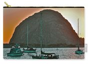 Morro Bay Rock Carry-all Pouch