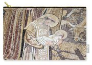 Mosaic Nativity Scene At Nativity Church Carry-all Pouch