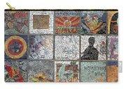 Mosaics Street At Birzeit Carry-all Pouch