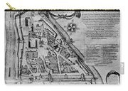 Moscow: Map, 17th Century Carry-all Pouch