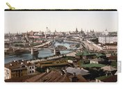 Moscow Russia On The Moskva River - Ca 1900 Carry-all Pouch