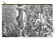 Moses And The Red Sea Carry-all Pouch
