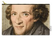 Moses Mendelssohn, German Philosopher Carry-all Pouch
